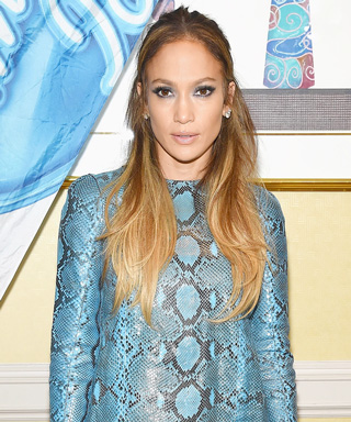 Jennifer Lopez in Blue Python