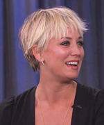 Kaley Cuoco-Sweeting on Jimmy Kimmel Live