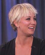 Kaley Cuoco-Sweeting on Jimmy Kimmel Live
