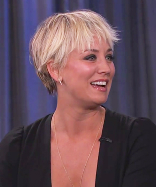Kaley Cuoco-Sweeting Shows Off Her Daring New Look on <em>Jimmy Kimmel Live</em>