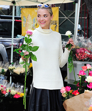 Jaime King in Banana Republic