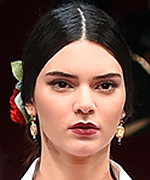 Kendall Jenner at Dolce & Gabbana