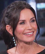 Courteney Cox on Kimmel.