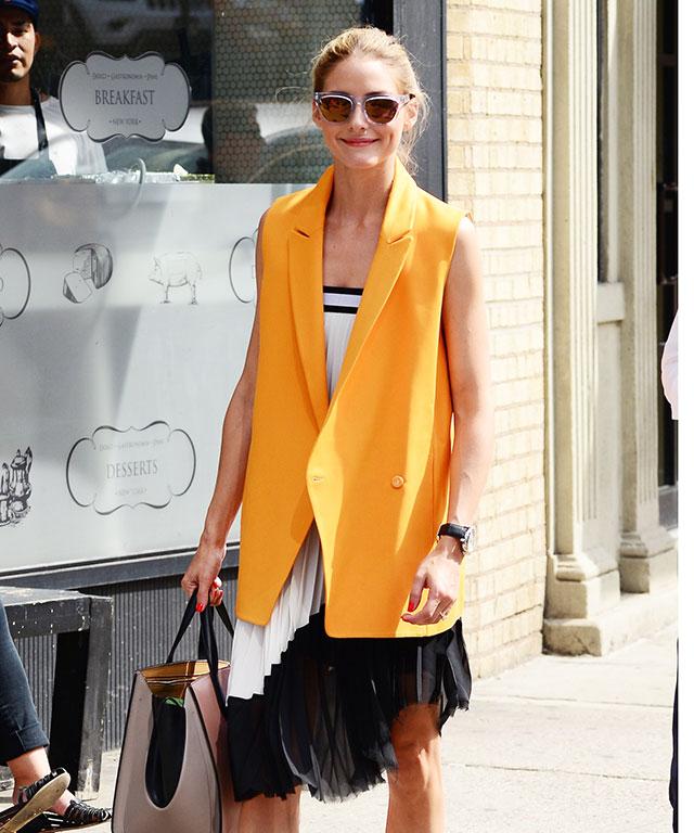 Olivia Palermo in Waistcoats