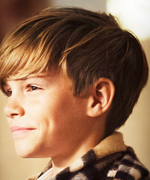 Romeo Beckham Fronts Burberry's Festive Campaign