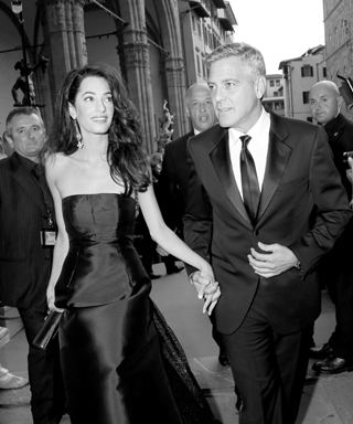 Most Stylish Couples - George Clooney and Amal Alamuddin