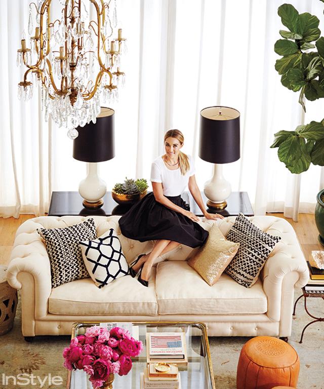 Lauren Conrad's chandelier