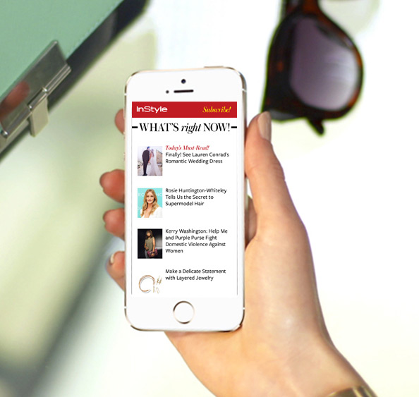 InStyle Newsletter Makeover