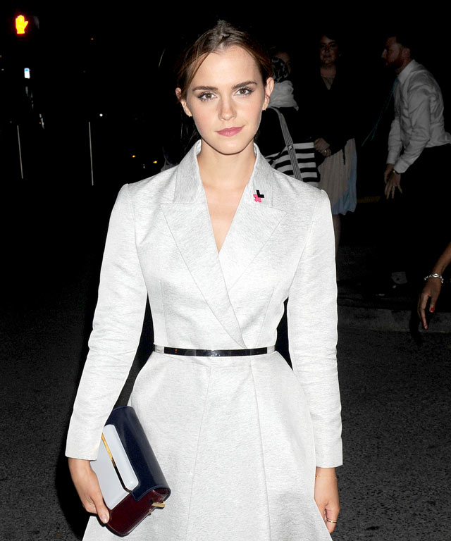 Emma Watson, Jessica Chastain, Kerry Washington, Rosamund Pike, Victoria Beckham