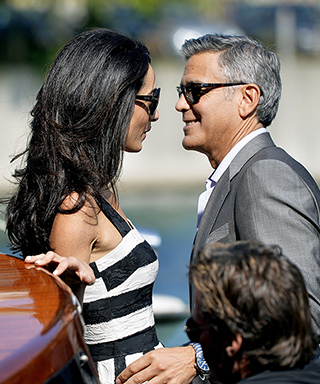 This Is Love! See the Gorgeous Photos of George Clooney and Amal Alamuddin Arriving in Venice for Their Wedding