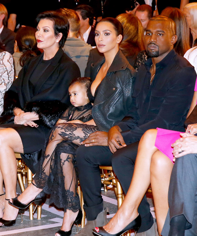 Kardashian-West at PFW