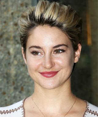 Shailene Woodley is a blonde.