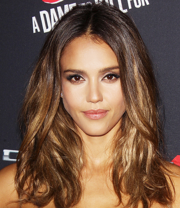 ... Exactly How to Get Jessica Alba's Gorgeous Caramel Highlights