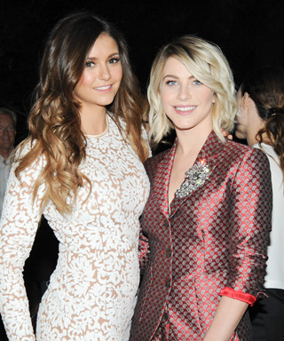Julianne Hough and Nina Dobrev