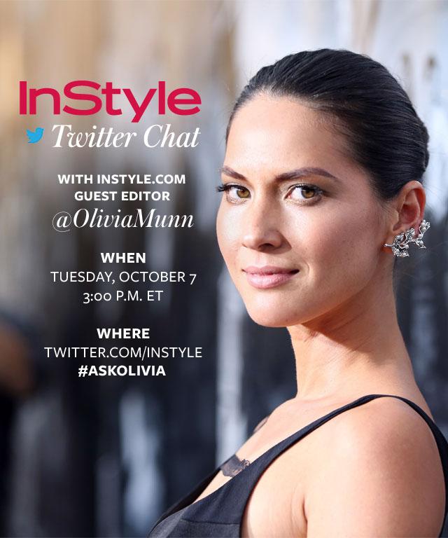 Olivia Munn Twitter Chat