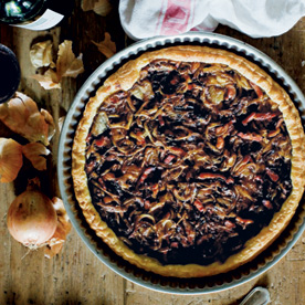Onion tart oh l l delicious french recipes from food for Mimi thorisson age