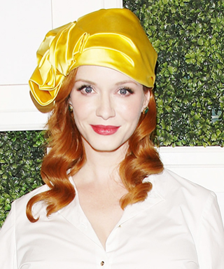 Christina Hendricks at Club Tacori Party