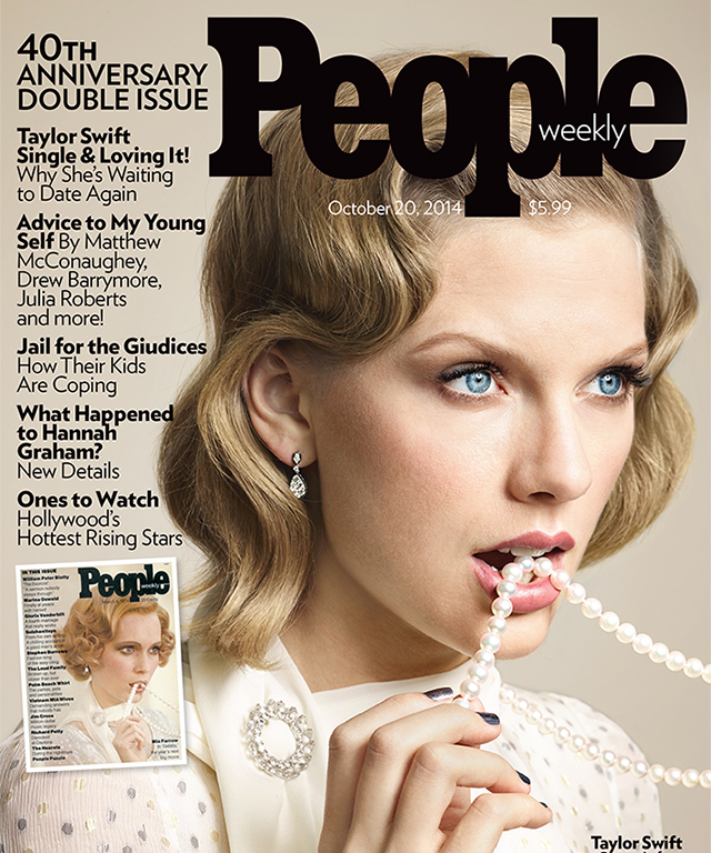 Taylor Swift People Magazine Cover