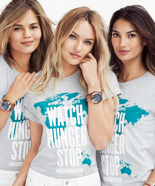 Chrissy Teigen, Candice Swanepoel & Lily Aldridge Watch Hunger Stop Campaign