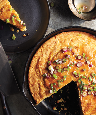 Cornbread with Honey