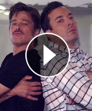 Brad Pitt's Breakdance Conversation with Jimmy Fallon