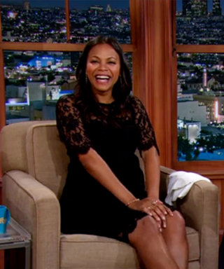 Zoe Saldana Has Been Craving Sexy Compliments While Pregnant