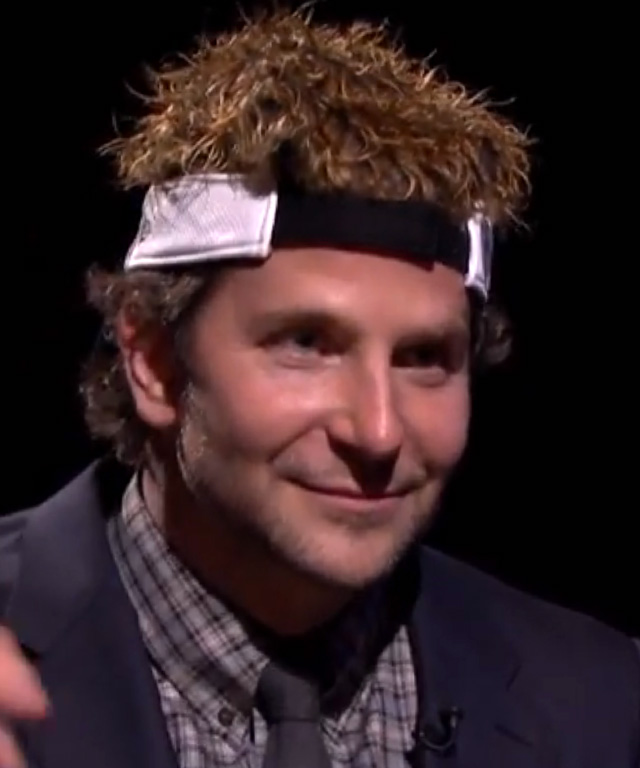Bradley Cooper plays Egg Russian Roulette with Jimmy Fallon.
