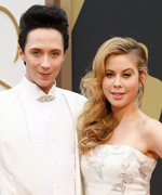 Johnny Weir and Tara Lipinski Olympic figure skating broadcast team