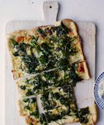 Dana Cowin's Broccoli Rabe Pizza