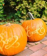 Calligraphy Pumpkin