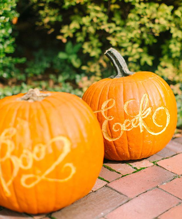 Calligraphy Pumpkin