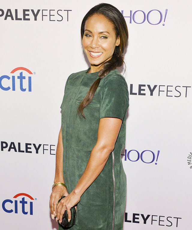 Jada Pinkett Smith in Suede