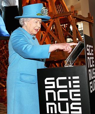 Queen Elizabeth sends her first tweet.