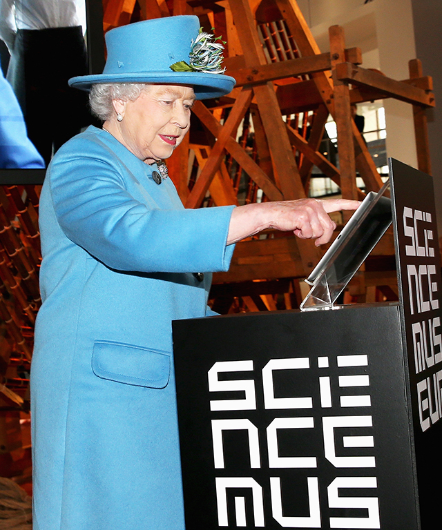 Queen Elizabeth sends her first tweet.