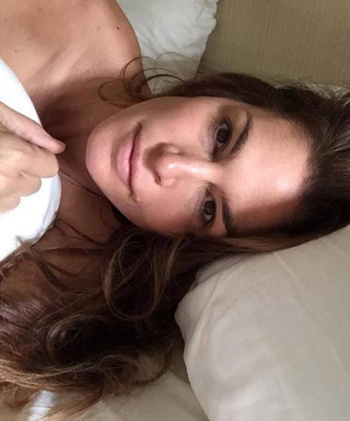 Cindy Crawford Makeup-Free Selfie