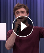 Daniel Radcliffe Rapping to Blackalicious
