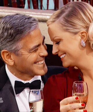 Amy Poehler and George Clooney