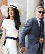 Amal Clooney 2014 British Style Award