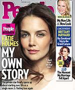Katie Holmes People cover