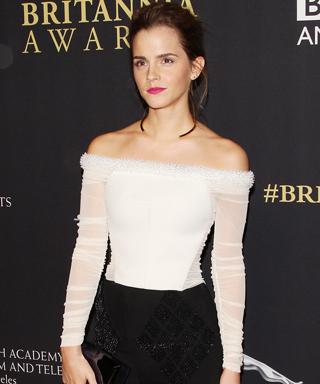 Emma Watson honored at BAFTA's Britannia Awards