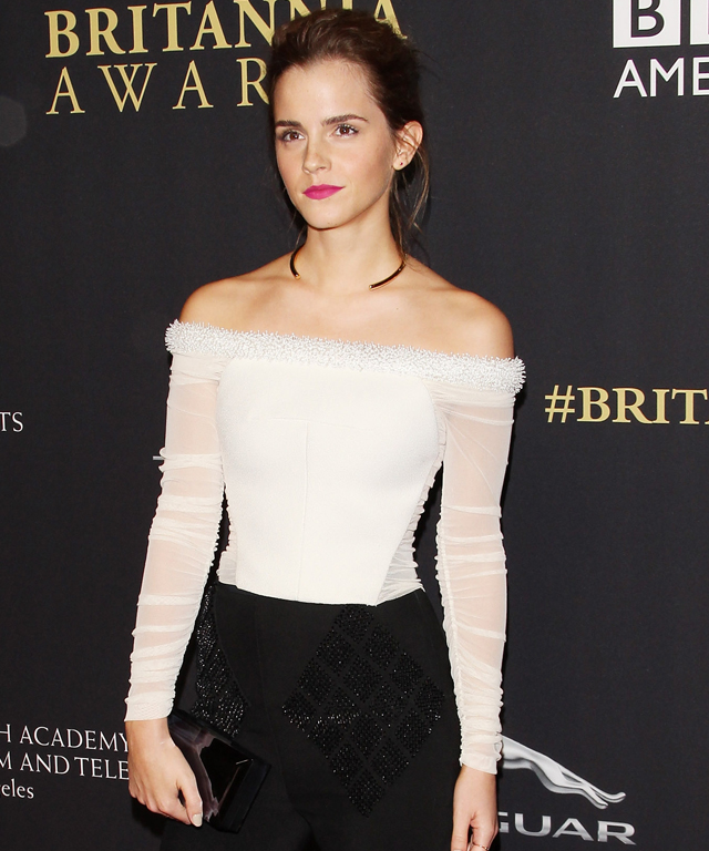 Emma Watson honored at BAFTA's Britannia Awards