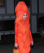 Katy Perry as a Hot Cheeto