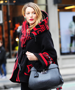 Blake Lively Cloak Maternity Style