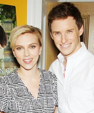 Scarlett Johansson and Eddie Redmayne