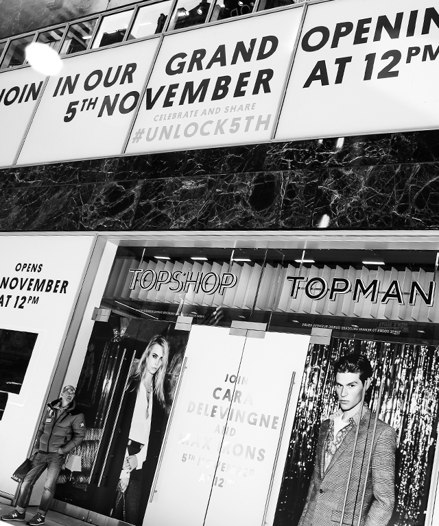 Topshop 5th Avenue Flagship