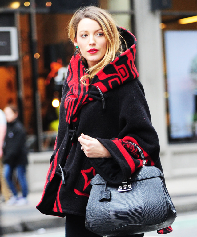 Blake Lively Loves Prints