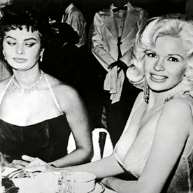 Sophia Loren And Jayne Mansfields Infamous Photo InStyle