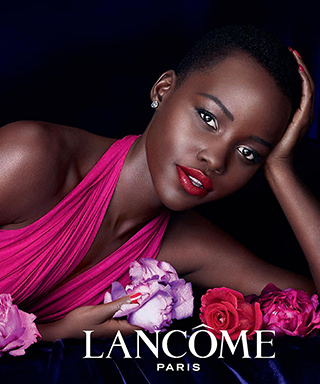 Lupita Nyong'o Lancome Ad Campaign