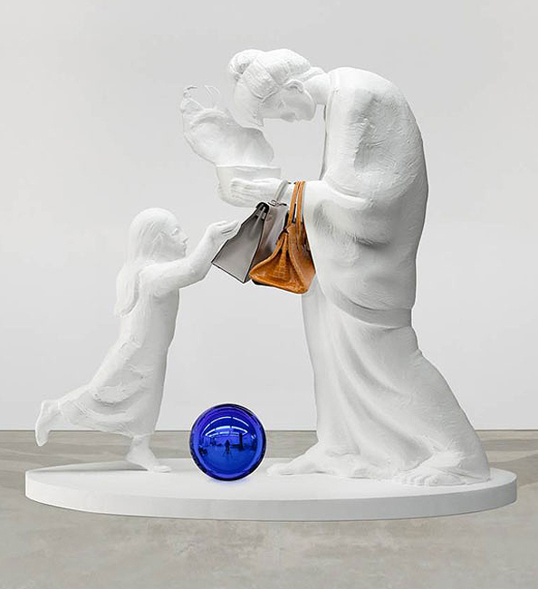 Jeff Koons Creates Art With Birkin Bags Instyle