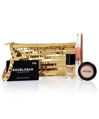 Stila x BaubleBar Holiday Collection